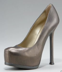 Tribtoo Platform Pump in Gold