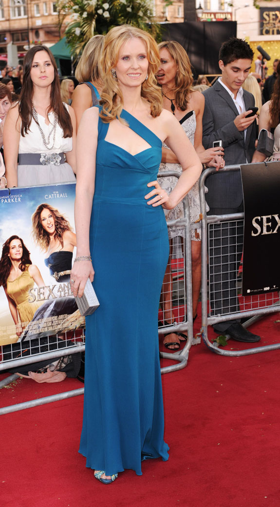 Cynthia Nixon at the London Premiere of 'Sex and the City 2'