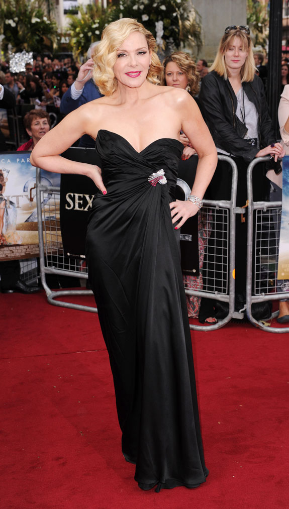 Kim Cattrall at the London Premiere of 'Sex and the City 2'