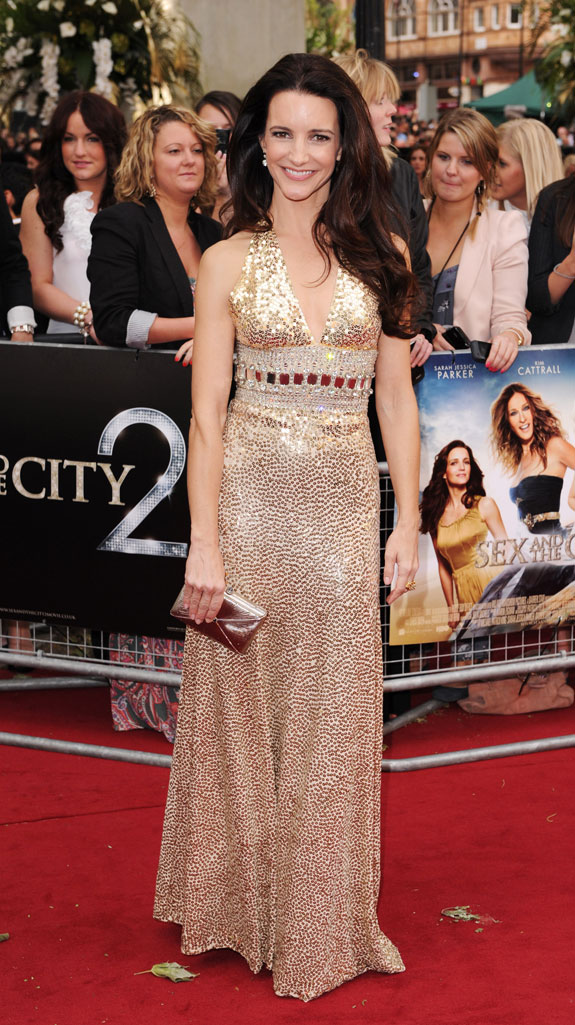 Kristin Davis at NYC Premiere of 'Sex and the City 2'
