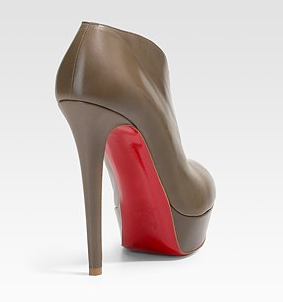 Christian Louboutin Miss Fast Ankle Boots - Back View