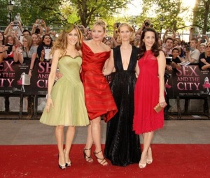 The Ladies at the London Premiere of 'Sex and the City'
