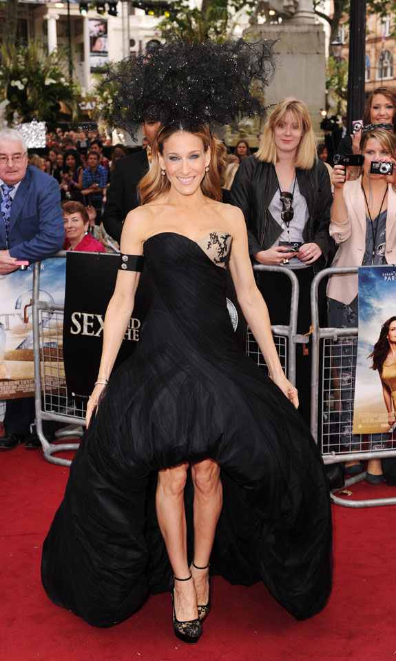 Sarah Jessica Parker at London Premiere of 'Sex and the City 2'