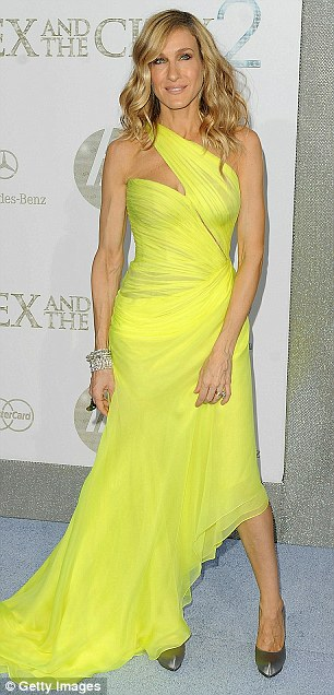 Sarah Jessica Parker at NYC Premiere of 'Sex and the City 2'