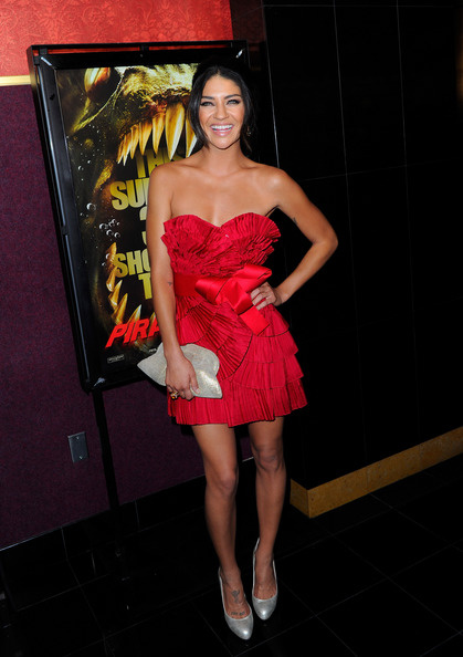"Jessica Szohr ""Piranha 3D"" - Arrivals Red Carpet"