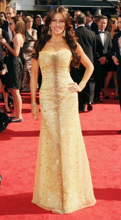 Sofia Vergara in Carolina Herrera Dress