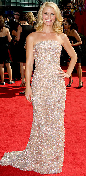 Claire Danes in Armani Prive dress