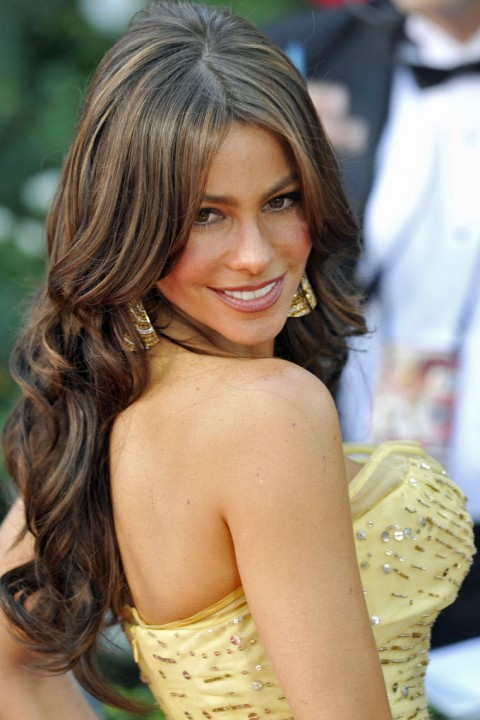 Sofia Vergara emmys 2010 red carpet