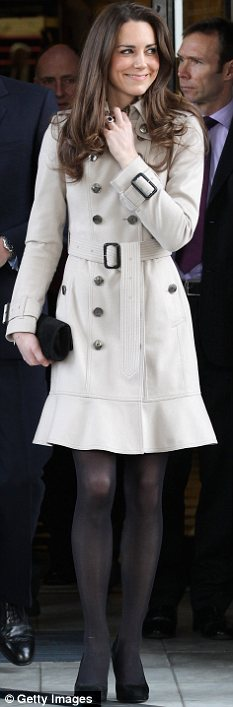 Kate Middleton Burberry Trench Coat