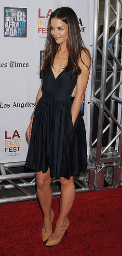 Katie Holmes at the Don't Be Afraid of the Dark premiere at the Los Angeles Film festival