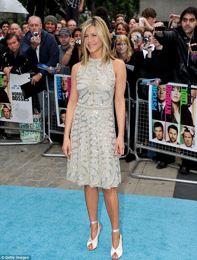 Jennifer Aniston in Valentino Dress at London Horrible Bosses Premiere