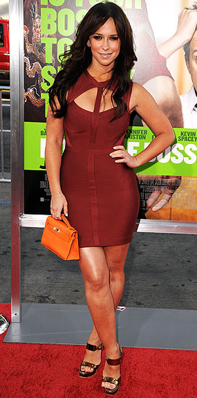 Jennifer Love Hewitt Herve Leger Red Carpet