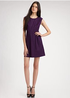 Theory Shyann Sleeveless Dress ($285)