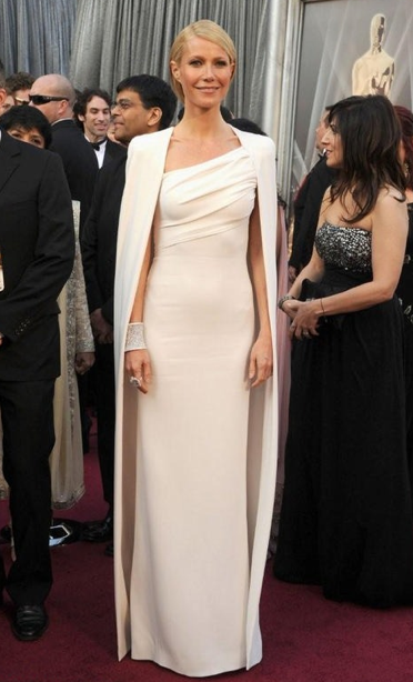 Gwyneth Paltrow Oscars 2012 Tom Ford red carpet