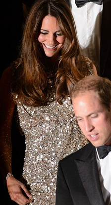 Kate Middleton Wows in Jenny Packham Dress at Tusk Foundation Gala in England