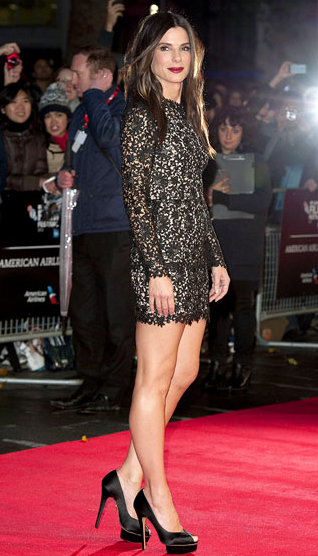 Sandra Bullock Stuns in Stella McCartney at the BFI London Film Festival 'Gravity' Screening