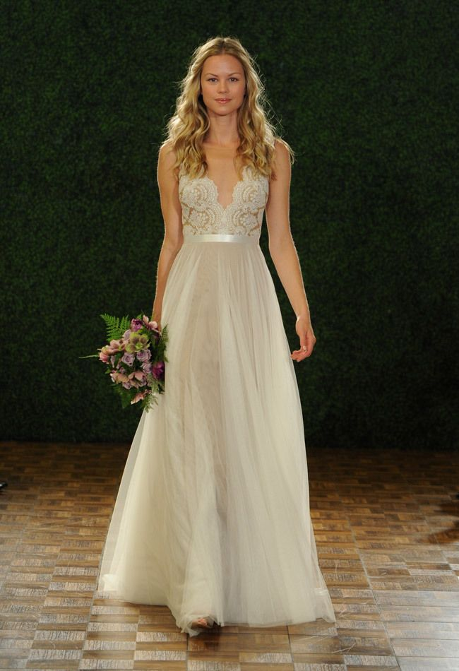 Gorgeous wedding dress from Watters Fall 2014 collection